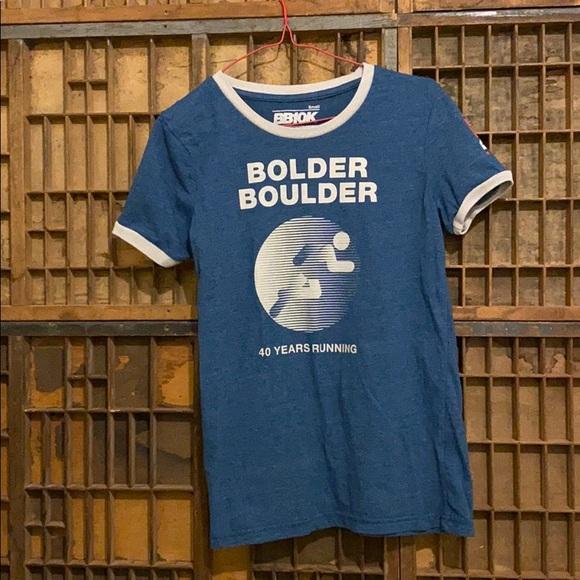 Tops - 2018 Bolder Boulder women's T-shirt